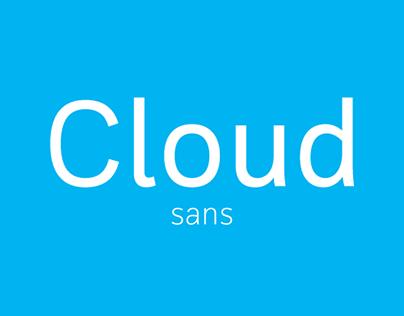 Cloud Sans (Free Font)