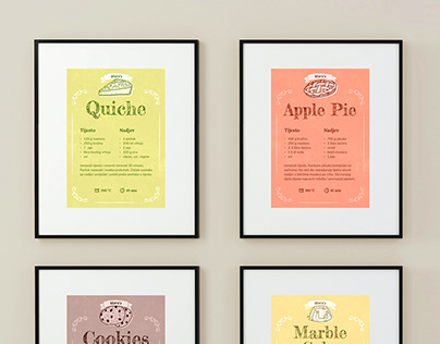 Cooking Recipe Cards