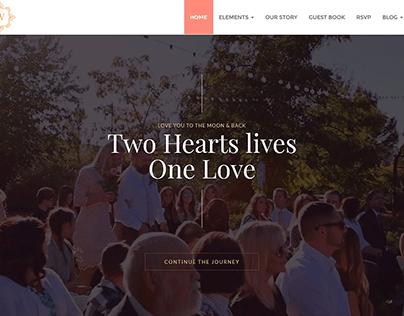 Wedding Home Slider WordPress Theme