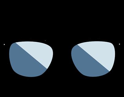 Sunglass Flat Design