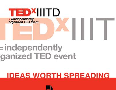TEDx IIITD | Brochure