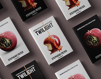 Diseño editorial TWILIGHT