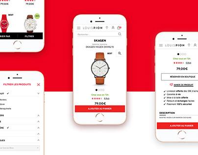 E-commerce ergonomics & design @JETPULP, digital agency