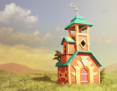 Stylized art for animated films