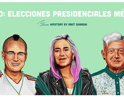 HIPSTORY - GO VOTE MEXICO 2018