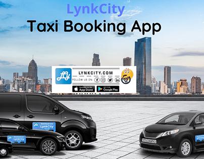 LynkCity Taxi Booking App | Hire Taxi & Cab | UK