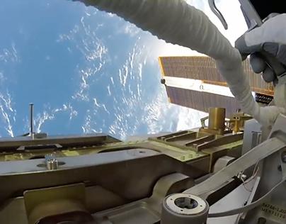 Scoring a NASA Astronaut's Spacewalk