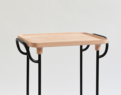 Terracotta Tray Table