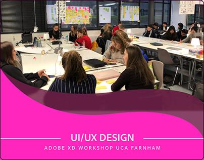 Design Thinking Workshop UCA Farnham