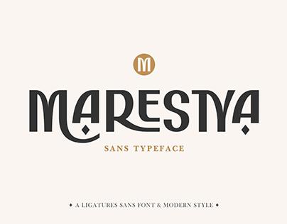 Marestya | Free Font