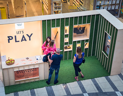 Let's Play - Shopping Mall lottery stand