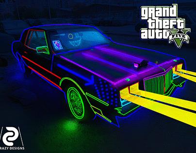 Gta IV Neon Car