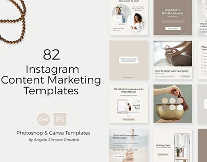Instagram Content Marketing Template