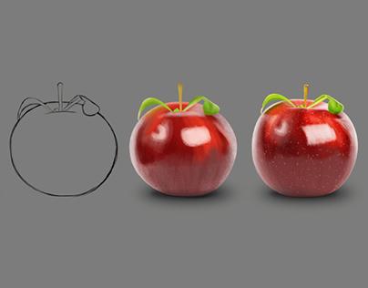 Apple rendering