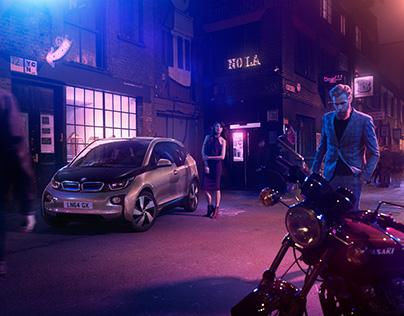 BMW with John Higginson   CGI