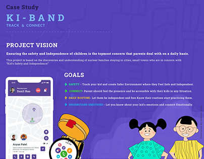 UX Case Study - Kids Safety and Independence