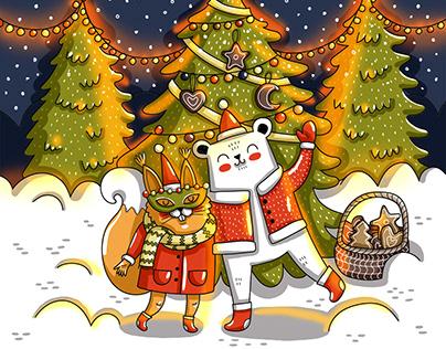 Christmas mood. Fairy tale.