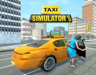 Taxi Simulator 2020