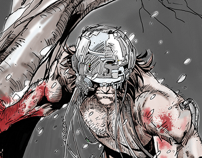 Weapon X - Illustration (Digital Inks and Colors)
