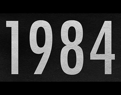 1984 Typo Animation