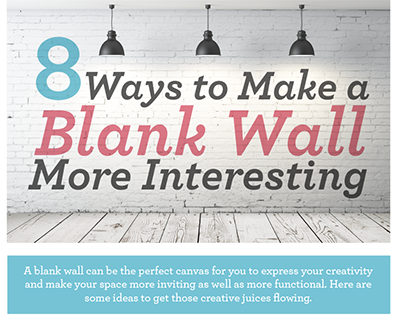 8 Ways to Make a Blank Wall More Interesting