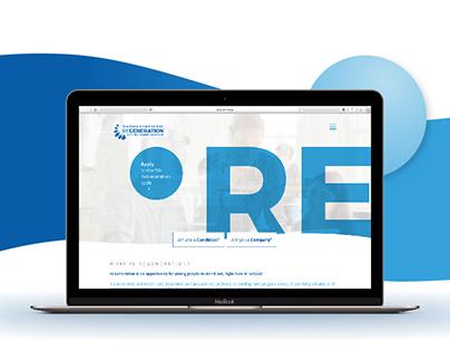 ReGeneration - Website Redesign