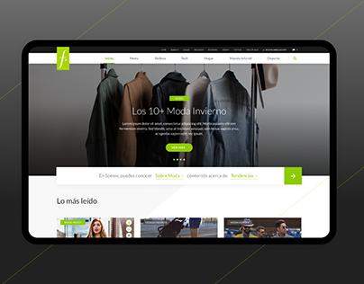 Falabella Blog - Diseño de sitio web
