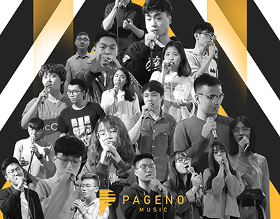 Pageno Music' Believe Show Landing Page