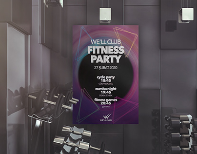 Well Club Fitness Party