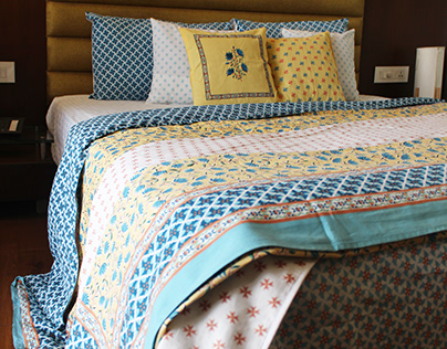 Gradation Project: Ratan Textiles(Bedding collection-1)