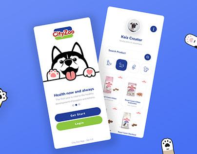 CityZoo Pet Shopping App