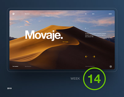 Si™ Daily Ui Design | Week 014 Inspirations
