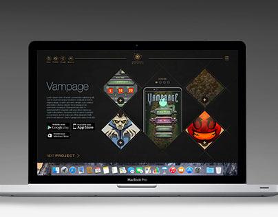 GORECANDY GAMES webdesign