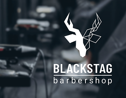 Blackstag Barbershop - Logo and Branding