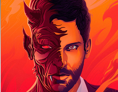 Lucifer Projects Photos Videos Logos Illustrations And Branding On Behance