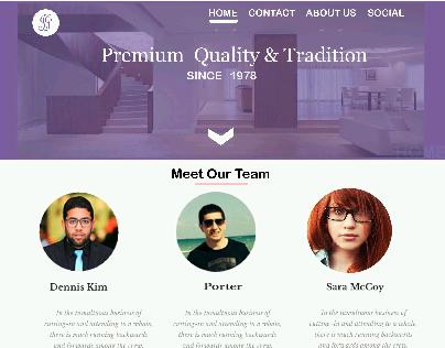 web page designing