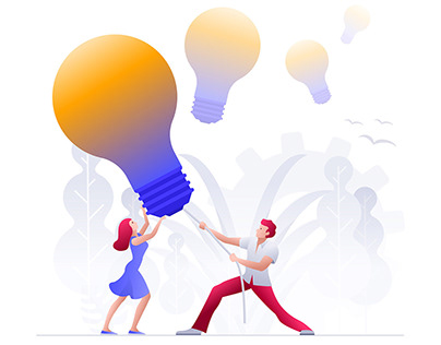 Business Concept Illustrations - 2019