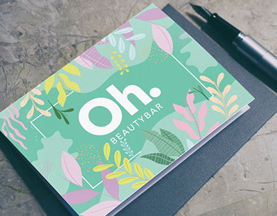Spring theme Gift Certificate for a Cosmetics Shop
