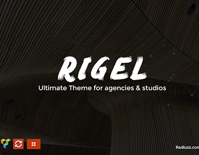 Rigel - Ultimate Agency & Portfolio Theme