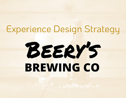 Experience Design strategy