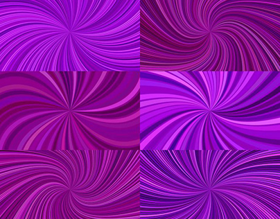 9 Purple Spiral Backgrounds