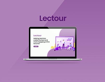 Lectour: e-learning platform for engagement enhancement
