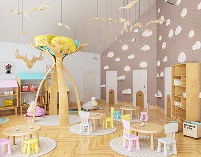 Kindergarten / game room