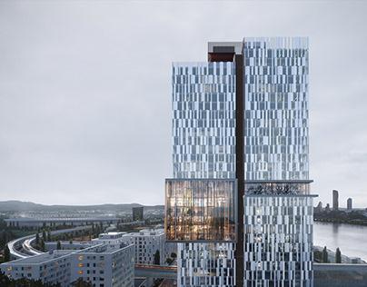 Donaumarina Tower | Design by Snøhetta