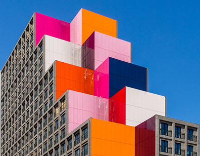 My favorite colorful facades