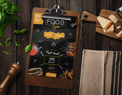 Food/Restaurant Flyer