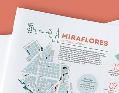 Mapa Turístico - Miraflores (Lima- Perú)