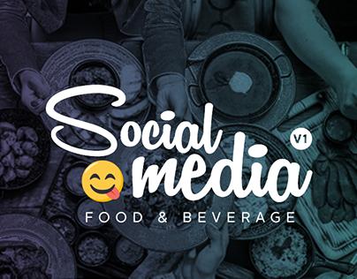 SOCIAL MEDIA V1 - FOOD & BEVERAGE