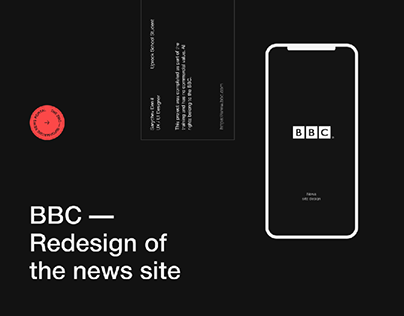 BBC - Redesign of the news site