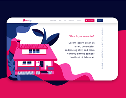 Housely - Web design